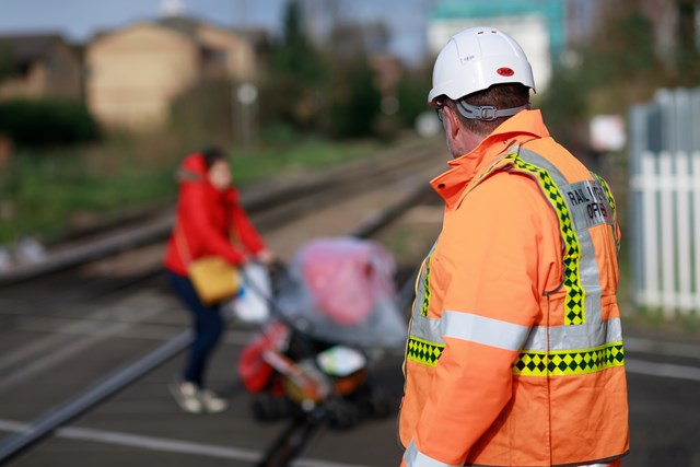 Network Rail to reduce level crossing risk across Suffolk: Level Crossing user-5
