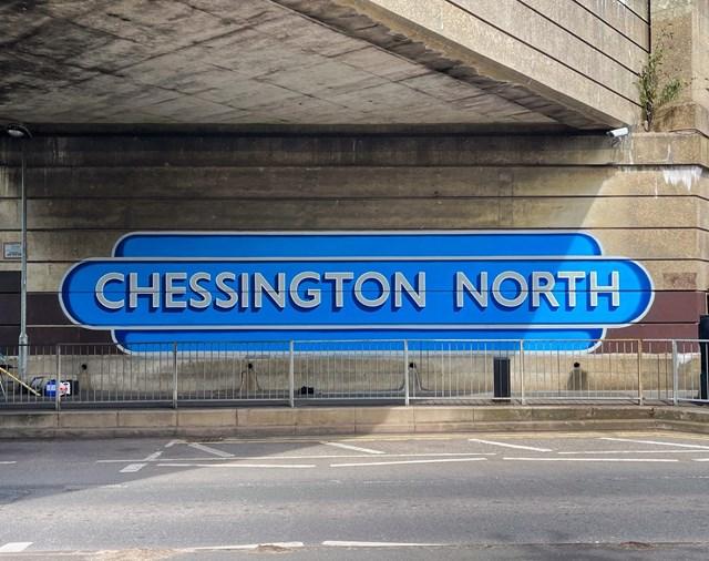 Chessington North mural