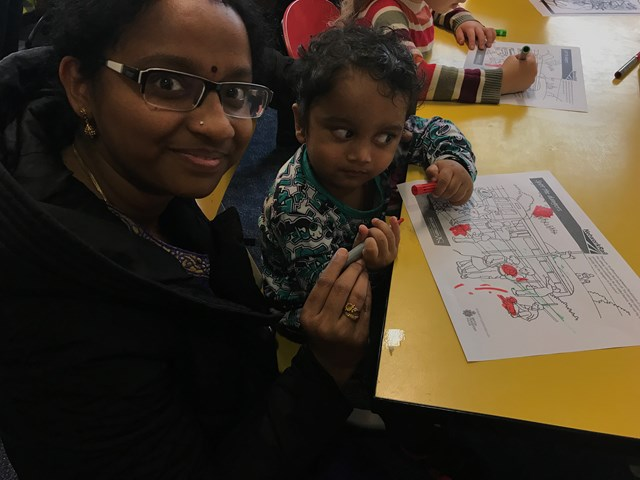 Stay safe with Thomas launch Norwich Library activity session