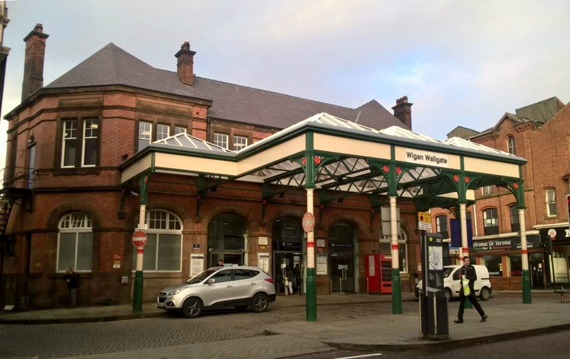 Passengers in the north to benefit from multi-million-pound stations investment: Wigan Wallgate station