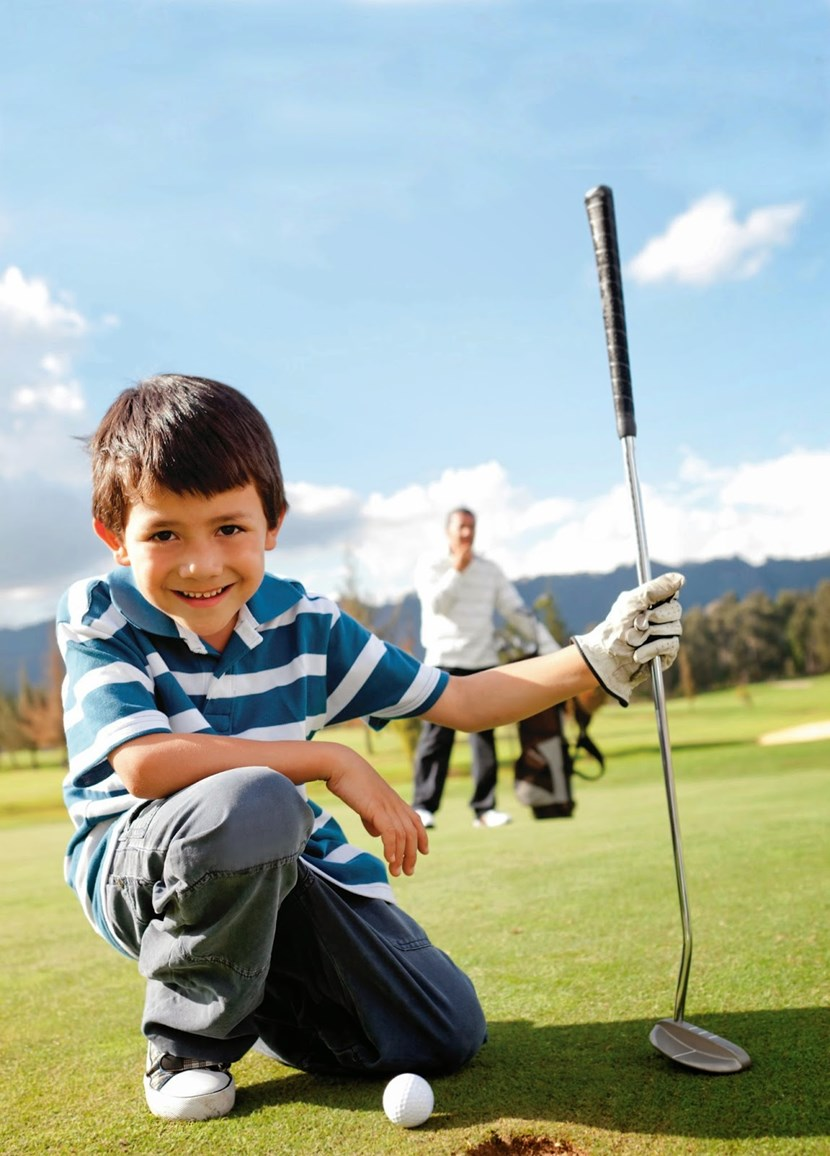 Youngsters given chance to discover delights of golf: golf.jpg