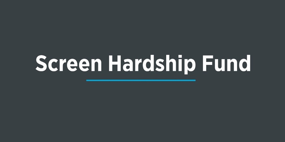 Screen Hardship Fund