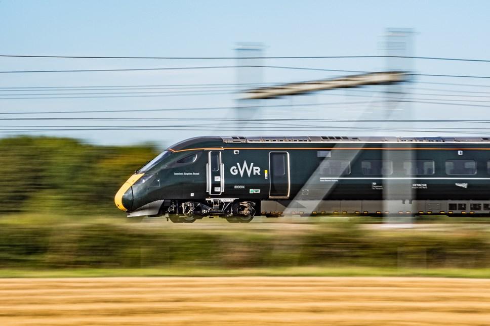GWR Intercity train