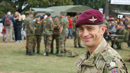 NHS Business Services Authority gains silver award for commitment to armed forces: english-soldier none copyright