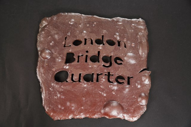 History un-earthed: ancient clay from London Bridge station transformed into art: MattRaw