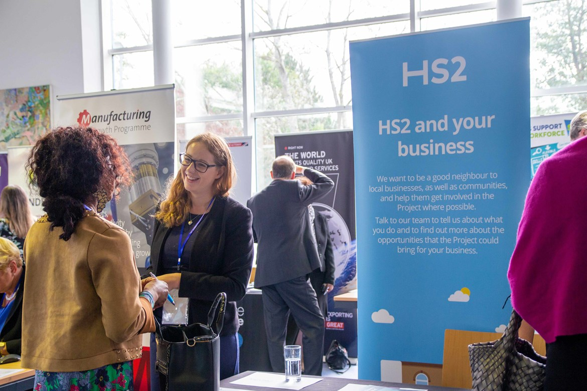 Companies near the HS2 route invited to hear about business opportunities: HS2 OnBoard
