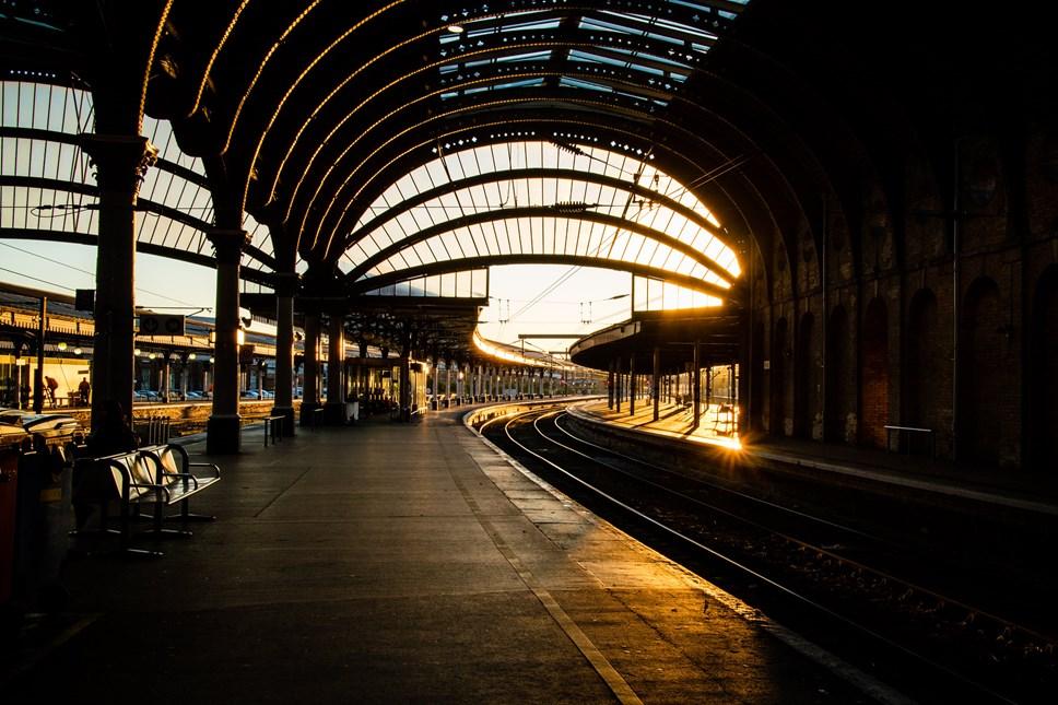 York railway station (evening)