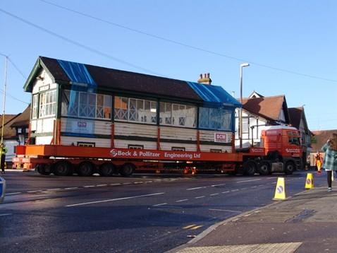 Barnham Signal Box - Journey Begins