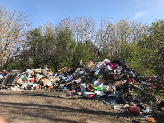 Fly-tipping risk for Scotland's Railway: East Lothian tipping