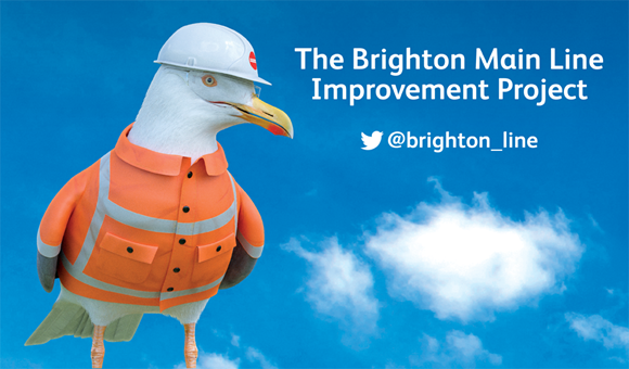 Brighton Main Line Improvement Project - banner
