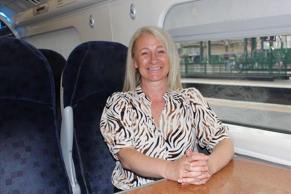 Karen Paton - Women in Rail Award Winner