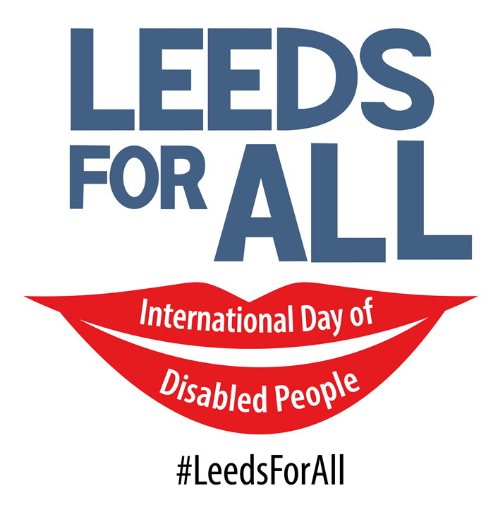 Leeds shows support for disabled residents on International Day of Disabled People: IDODP - LOGO-2