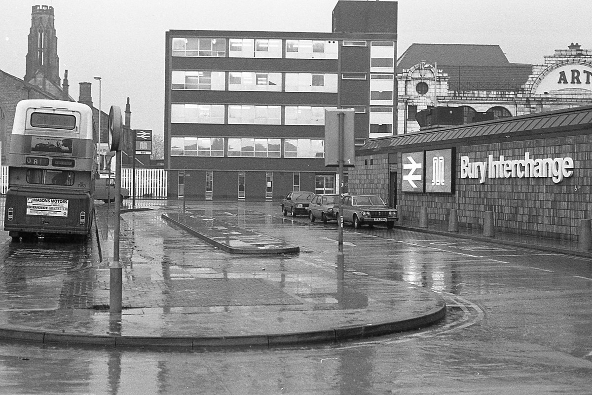 Bury Interchange early 1980s