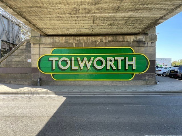 Mural at Tolworth