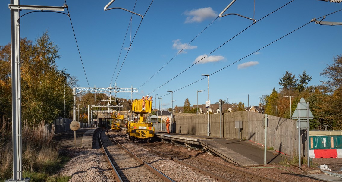 Successful completion of Stirling Dunblane Alloa engineering works: PA150037