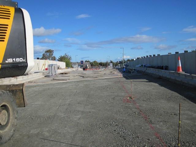 1 Oct Kerse Road bridge deck work