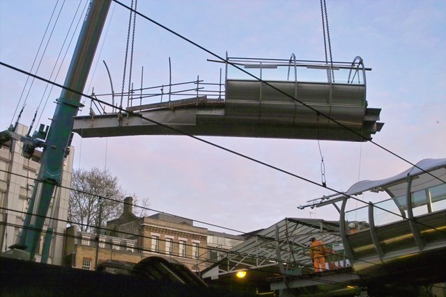 Thameslink - Farringdon footbridge 2