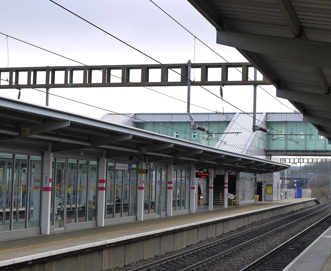 All passengers travelling to Luton Airport Parkway advised of significant changes to lifts: Network Rail begins vital lift improvement work at Luton Airport Parkway station