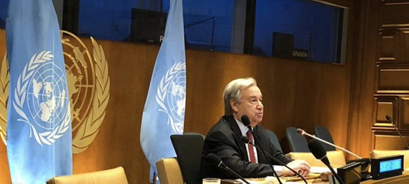 UN Secretary-General speaks out on seafarers: UNSG