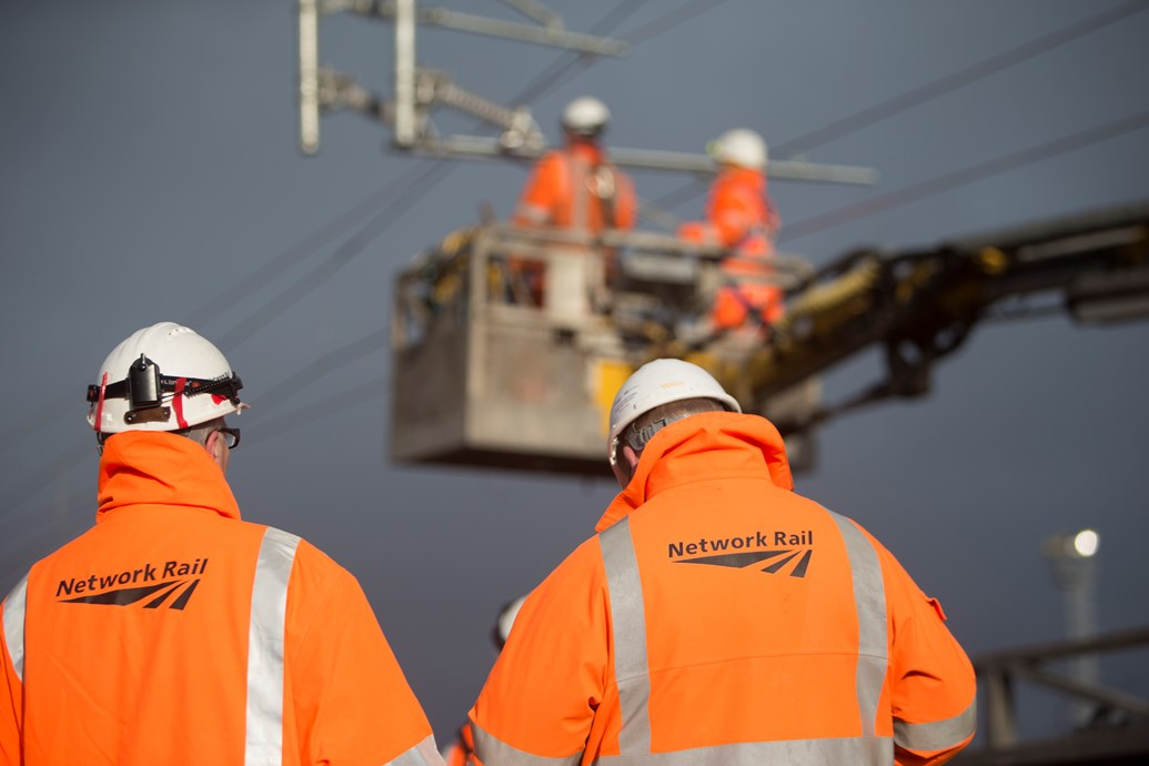 Grangemouth electrification goes live: Overhead line engineers