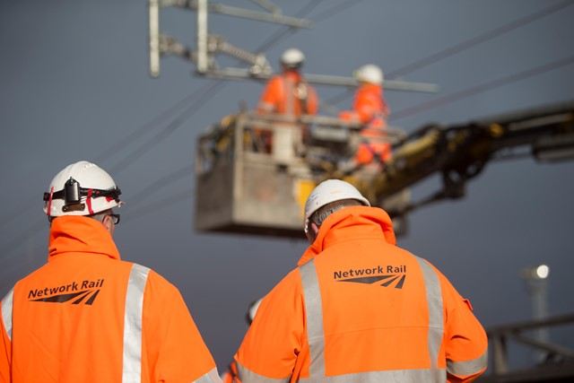 £5.7 billion to run the 'Backbone of Britain' railway: Overhead line engineers