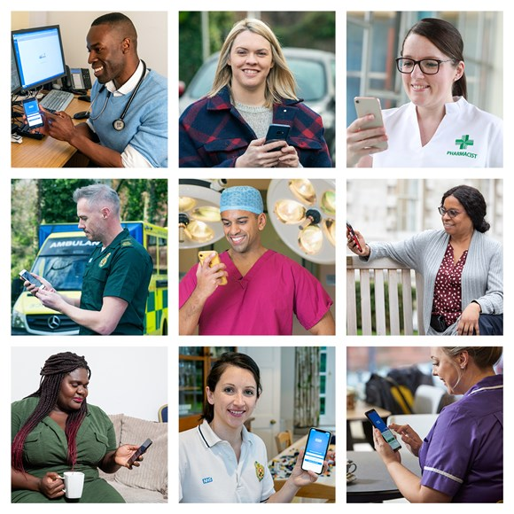 NHS Unveils 'Faces of the NHS App'