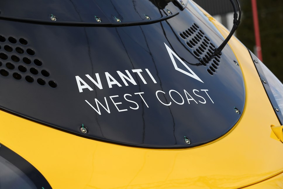 Flybe passengers offered free travel on Avanti West Coast and FirstGroup trains this week: Front of Pendolino