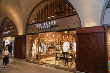 Newly opened Ted Baker in the Western Arcade at London Bridge station