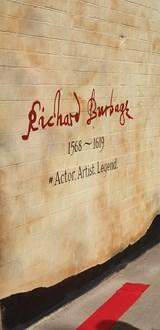 Richard Burbage Mural 4