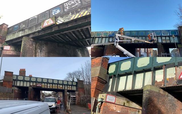 Wincheap Bridge Graffiti Removal (2)