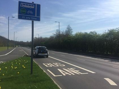 Siemens Deploys 1,000th Traffic Enforcement Camera: Nottingham ULEV Bus Lane resized