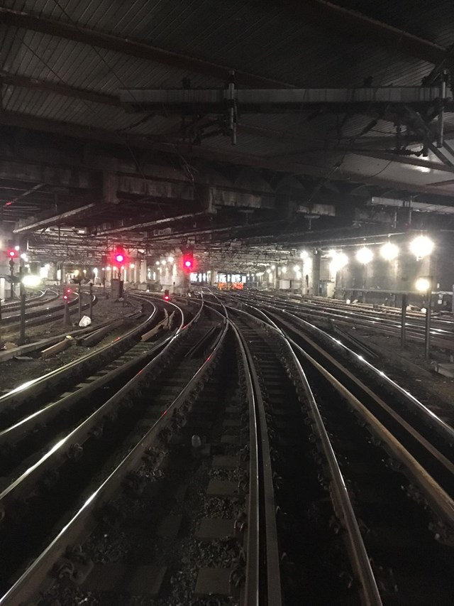 Innovative engineering reduces delays on critical Liverpool Street tracks: Liverpool Street Golden Mile