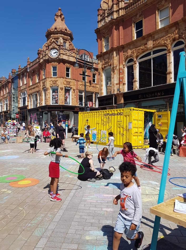 Playful Anywhere in Leeds City Centre