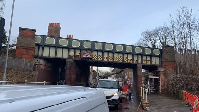 Wincheap Bridge Graffiti Removal (4)