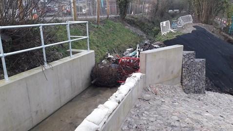 Corsham Aqueduct debris 01