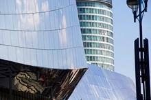 Birmingham New Street and the Rotunda
