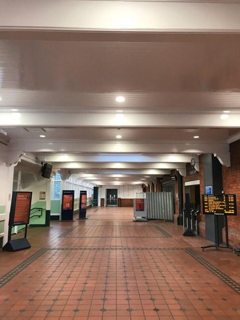 Nottingham station footbridge reopens