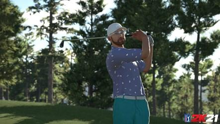 PGA TOUR 2K21 TravisMathew Outfit 1