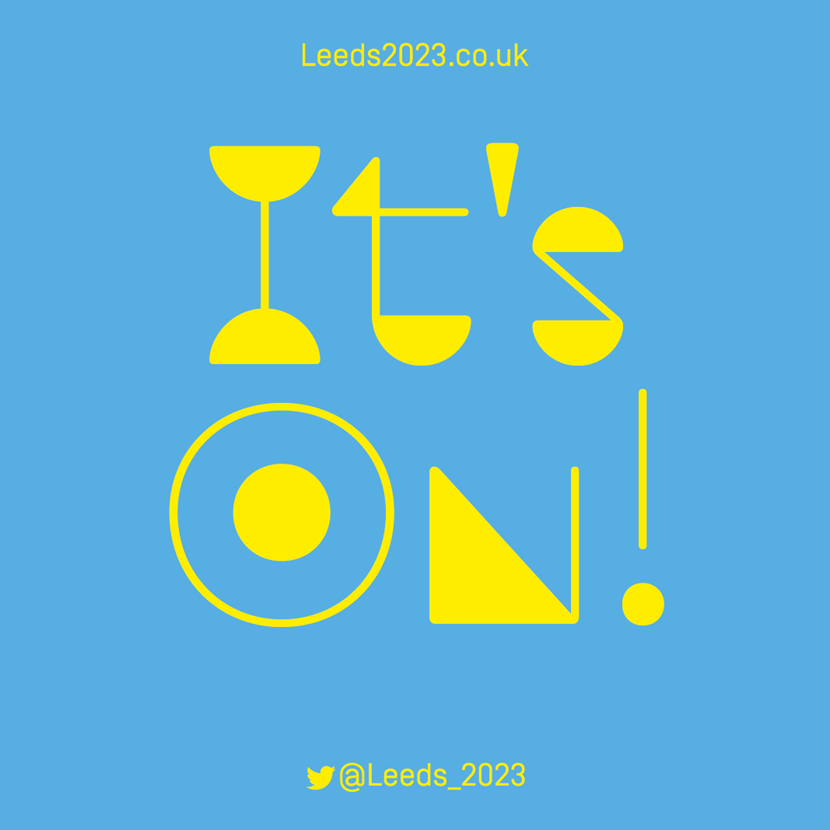 Statement in response to announcement that UK cities including Leeds will bid for European Capital of Culture 2023: 2023-itson-tweetgraphic.png