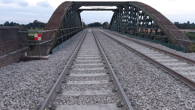 Network Rail completes major bridge improvements so freight can keep Drax Power Station running