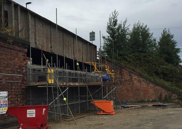 Strengthening work to begin on East Ardsley bridge: Strengthening has started on Fall Lane bridge in East Ardsley