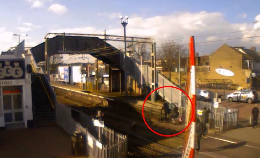 Shocking CCTV footage shows scale of misuse at Thurrock level crossing, as two people are fined for trespass: Grays level crossing trespass