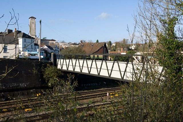 Tunnel Terrace Footbridge, Newport