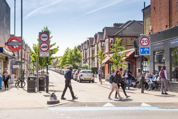 TfL Press Release - Consultations open on major safety improvements at five dangerous London junctions: TfL Image - Delivering safer junctions