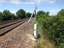 Covtec installed at Block Farm level crossing-2