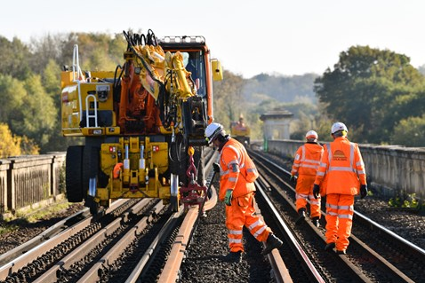 Brighton Mainline Upgrade Ouse Valley Oct 10  (41)