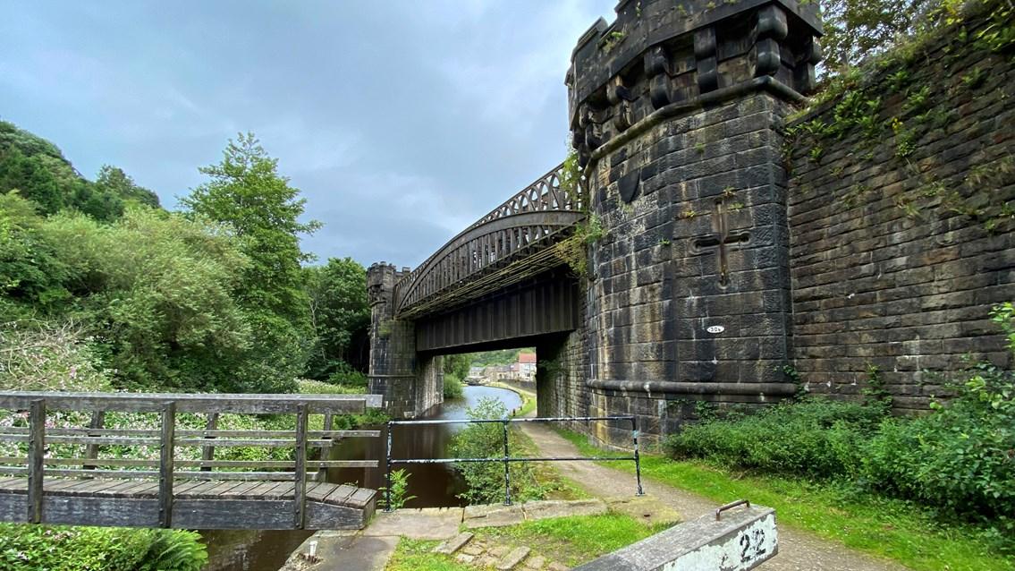 Gauxholme Viaduct 4 August 2020 b