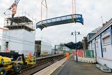 Stirling stn bridge lift 1
