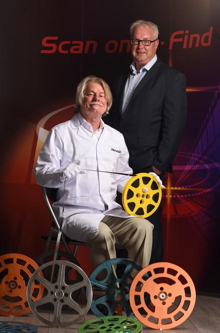iMetaFilm - (L to R) Michael Howell, founder and director of iMetafilm w...