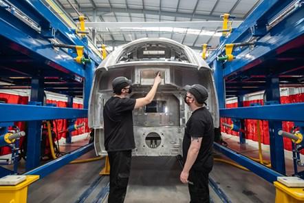 Weld Apprentices Hitachi Rail